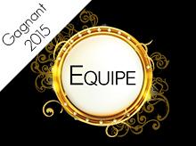 Victoires de la Coiffure 2015 : catégorie Equipe