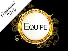 Victoires de la Coiffure 2016 : catégorie Equipe