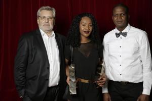 Jean-Claude AUBRY, Aïssatou BARRY et Yves ILUNGA